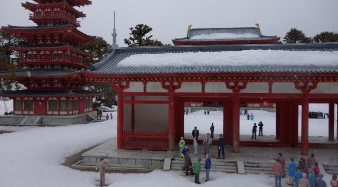 【京都】雪景色の薬師寺【TWS】