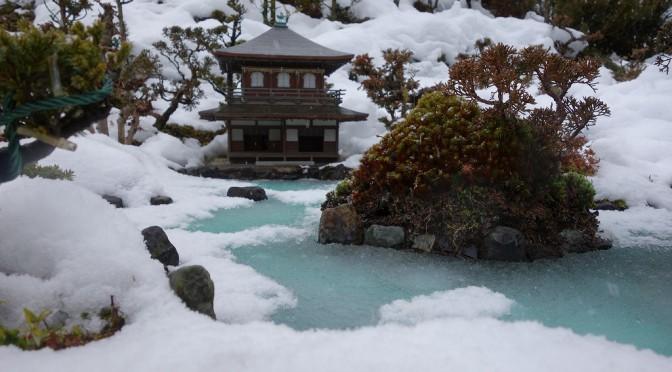 【京都】雪の慈照寺銀閣【TWS】
